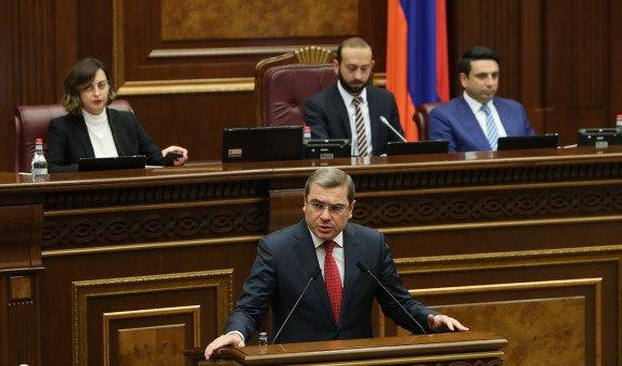 Парламент Армении обсуждает вопрос о возврате налогоплательщикам долга в 56 млрд. драмов