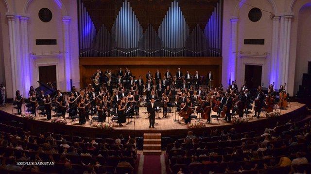 Государственный симфонический оркестр Армении объявляет о начале 14-го концертного сезона