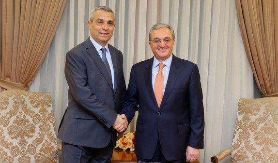 Главы МИД Армении и Арцаха провели встречу в Ереване