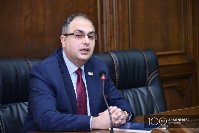 Мы выбрали правовой путь: Варданян о прекращении полномочий Товмасяна