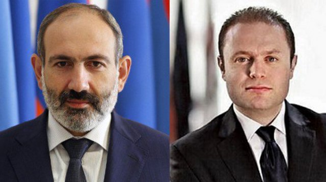 Никол Пашинян поздравил премьера Республики Мальта по случаю Дня независимости