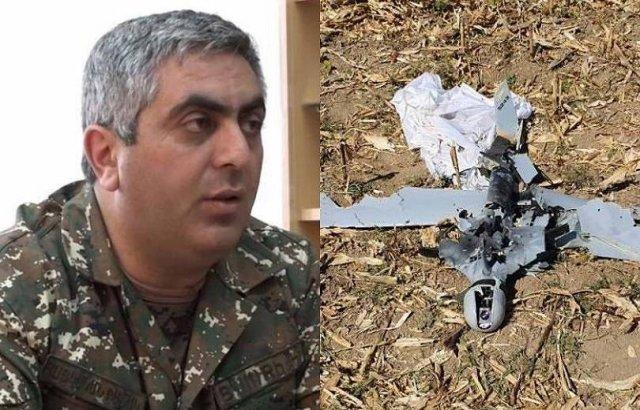 Сбитый АО Арцаха азербайджанский беспилотник, стоил около 1 миллиона долларов