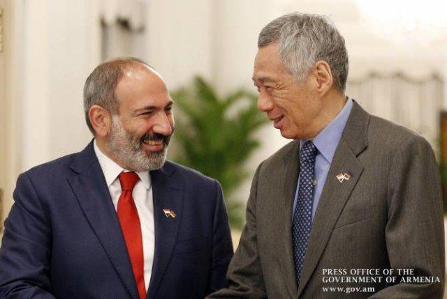 Известна повестка дня визита премьер-министра Сингапура в Армению