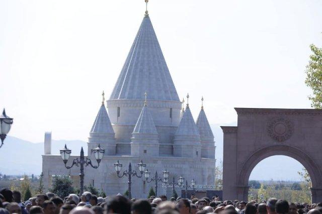 Самый большой езидский храм в мире открыт в Армении