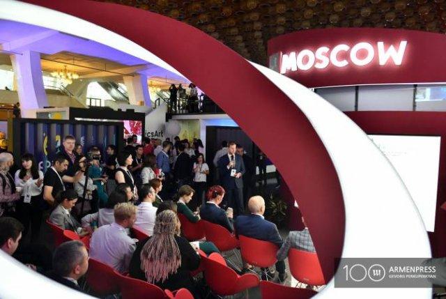 """Правительство Москвы в рамках """"WCIT 2019"""" в Ереване представило свой павильон"""