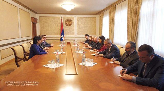 Бако Саакян в Арцахе встретился с конгрессменами США