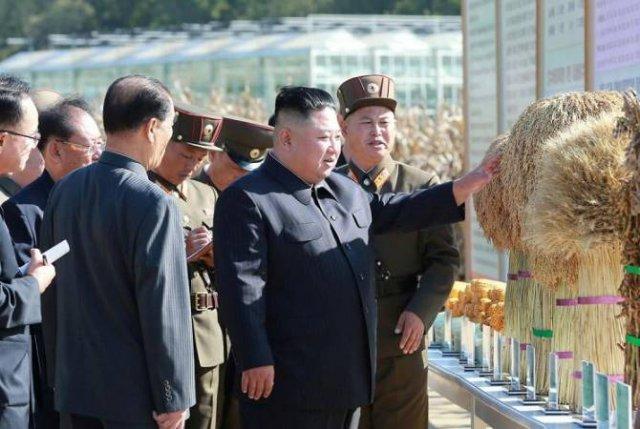 Ким Чен Ын впервые за месяц показался на публике