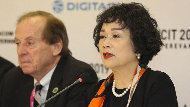 Ивон Чу : Горжусь проведением в Армении «WCIT-2019»