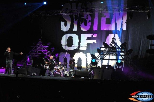 SOAD даст концерт в Армении в 2020 году