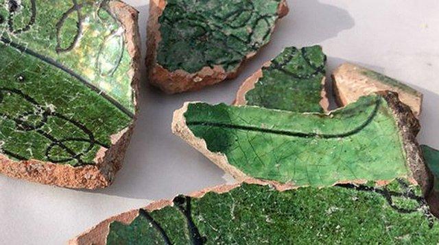 Раскопки в Ани: обнаружены образцы керамики