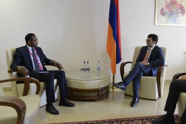 "В рамках ""WCIT 2019"" министр Акоп Аршакян провел ряд двусторонних встреч"