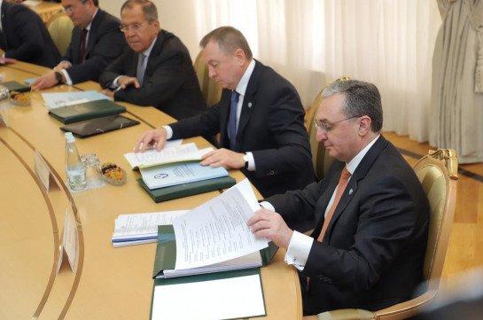 Глава МИД Армении принимает участие в заседании Совета министров иностранных дел СНГ