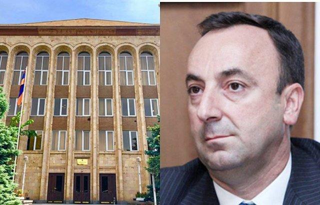 Конституционный суд получил решение НС о прекращении полномочий Грайра Товмасяна