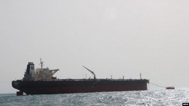 На иранском нефтяном танкере в Красном море произошёл взрыв
