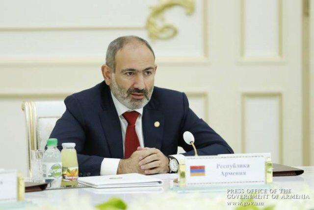 Армения приветствует любую инициативу по углублению экономического сотрудничества в СНГ: Пашинян
