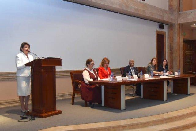 Нуне Саркисян в Матенадаране приняла участие в международной конференции