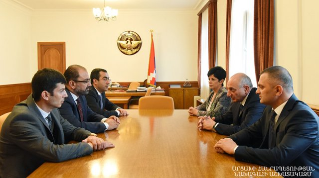 Обсуждены вопросы развития высшего образования в Арцахе