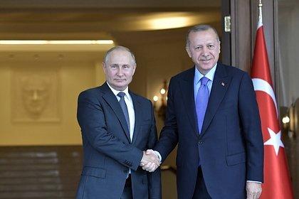 Эрдоган рассказал о решении проблем с Путиным по Сирии