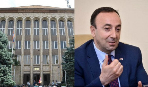 КС отказался принять к производству заявление НС о прекращении полномочий Грайра Товмасяна