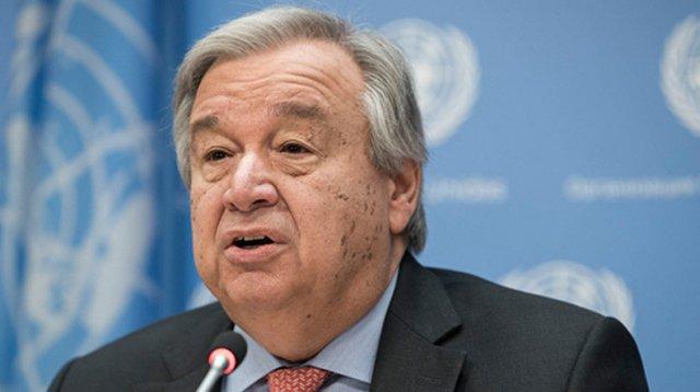 Генсек ООН Антониу Гутерреш призывает к срочной деэскалации ситуации на северо-востоке Сирии