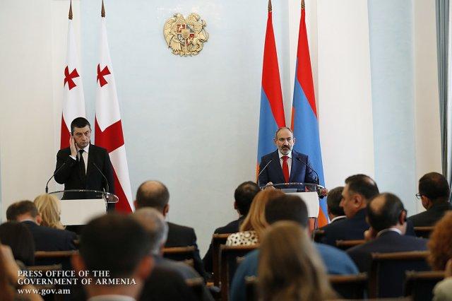 Никол Пашинян: Развитие армяно-грузинских отношений должно быть лишено любого фактора внешнего воздействия
