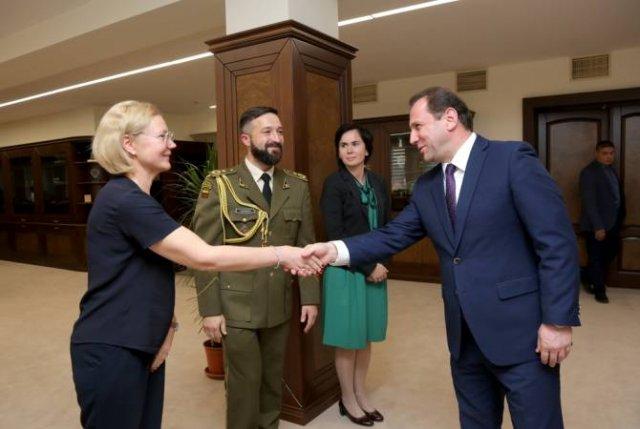 Армения и Литва высоко оценивают двустороннее и многостороннее сотрудничество в сфере обороны