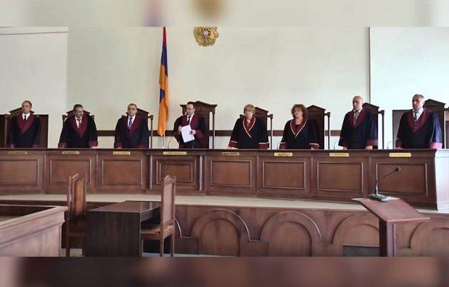 Судьи Конституционного суда распространили заявление