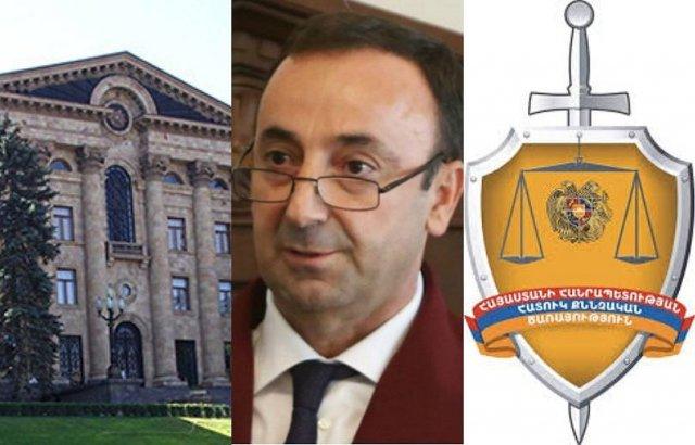 ССС провела следственные действия и в парламенте по следам сообщения Армана Бабаджаняна