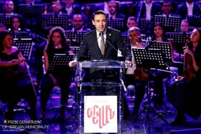 У Еревана великая история, но должно быть и мощное настоящее и будущее — Айк Марутян