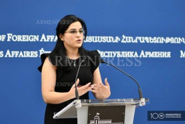 МИД РА приветствует создание группы дружбы с Арменией в украинском парламенте