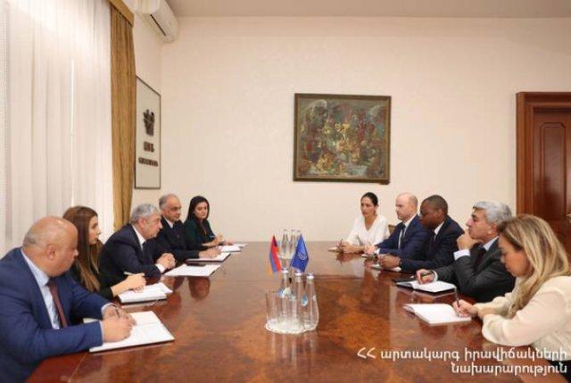 Феликс Цолакян встретился с представителями Всемирного банка