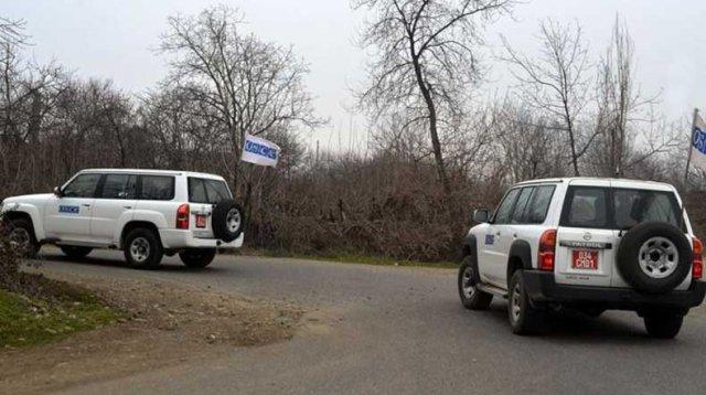 Мониторинг миссии ОБСЕ на линии соприкосновения ВС Арцаха и Азербайджана прошел без ЧП