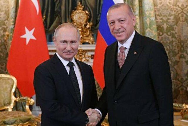 Кремль рассчитывает, что Эрдоган сообщит Путину о планах Турции по операции в Сирии