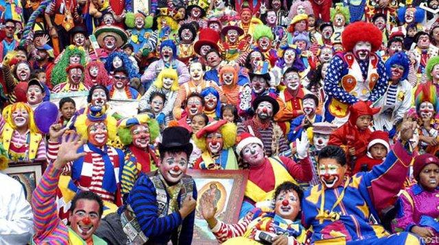Клоуны собрались на ежегодную конференцию в Мехико