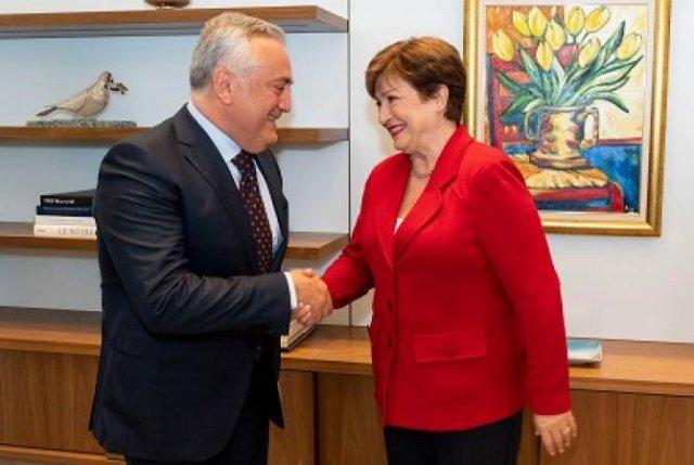 Артур Джавадян встретился с исполнительным директором Международного валютного фонда