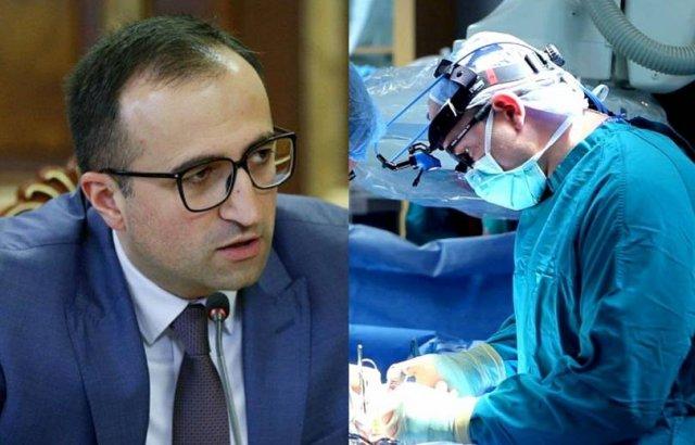 В Армении впервые провели операцию по пересадке печени ребенку от живого донора