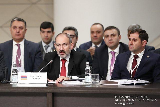 Заседание ЕМПС в Москве: премьер Армении Никол Пашинян передал эстафету Беларуси