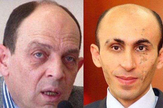 Правозащитник Аветик Ишханян и омбудсмен Арцаха Артак Багларян лично поручились за Арсена Бабаяна