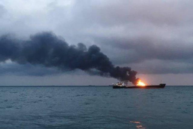 Взорвался катер азербайджанской нефтегазовой компании SOCAR
