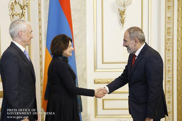 Премьер Армении принял делегацию во главе с заместителем Генсека ООН