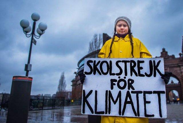 Активистка Грета Тунберг отказалась от премии по экологии