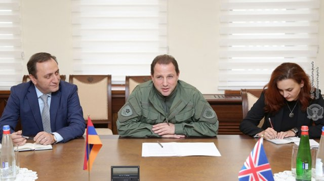 Давид Тоноян: Армяно-британское сотрудничество продолжает регулярно развиваться