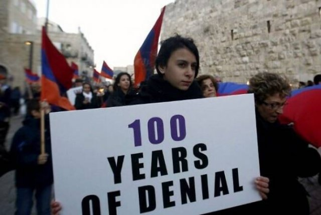 В Израиле призывают признать Геноцид армян по примеру Палаты представителей США