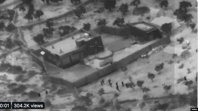 Пентагон опубликовал видео операции против аль-Багдади