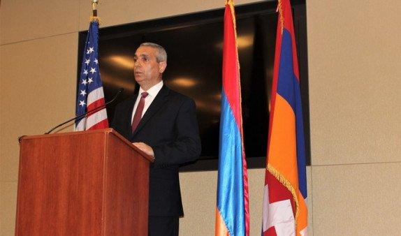 Глава МИД Арцаха Масис Маилян выступил в Конгрессе США