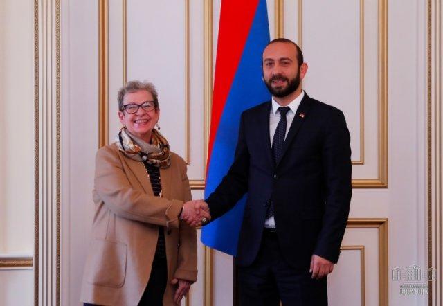 Андреа Викторин: ЕС готов и желает способствовать проводимым в Армении реформам