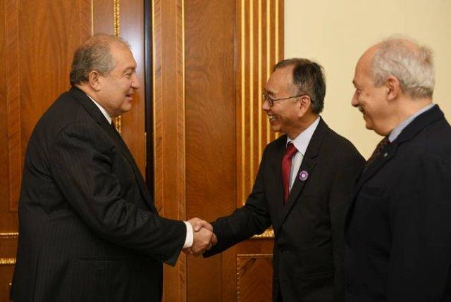 Президент Республики Армения принял президента и содиректора компании Synopsys