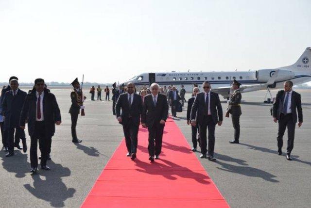 В Армению с официальным визитом прибыл президент Греции Прокопиос Павлопулос