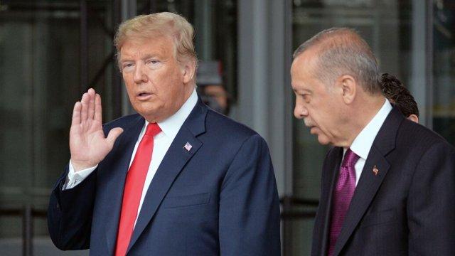 Эрдоган и Трамп подтвердили дату встречи в Вашингтоне