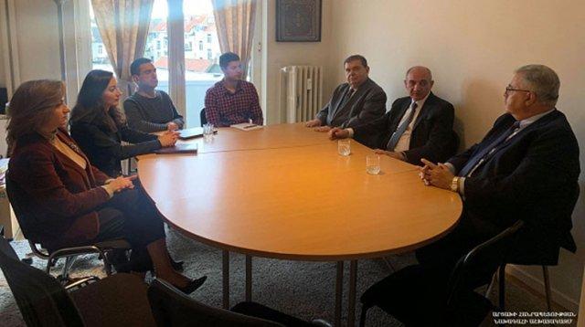 Бако Саакян высоко оценил работу Европейской комиссии «Ай Дата», направленную на содействие Арцаху